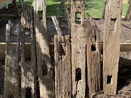 Rustic Wooden Fence Posts Building Materials Gumtree Australia Brisbane South East Camp Hill 1260168097