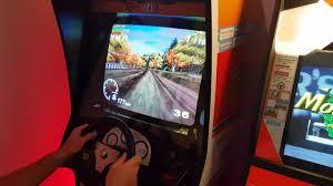sega rally chionship arcade upright