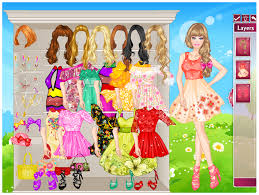 barbie dressup and makeover games