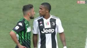 Douglas Costa spit: Juventus forward stung with four-match ban after clash  with Sassuolo's Federico di Francesco
