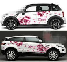 Cherry Blossoms Sakura Flower Car Door Graphics Vinyl Stickers Decal Both Sides Ebay