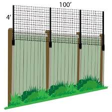 3 X 100 Poly Extension Kit For Existing Decorative Metal Fence Walmart Com In 2020 Deer Fence Diy Garden Fence Fence Height Extension