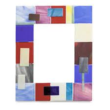 red textured frame 31cm x 25cm malta