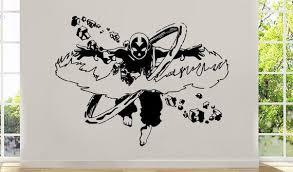 Art Anime Vinyl Sticker Avatar The Last Airbender Wall Decal Etsy