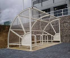 Circo 90 Cycle Shelter Iae Fencing Esi External Works