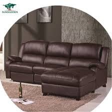electric leather recliner sofa set