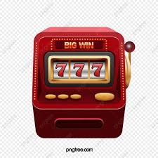 Dibujos Animados Rojo Numero De La Suerte Gran Maquina De Loteria