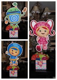 Team Umizoomi Birthday Party Centerpieces Centerpiece Party Ideas