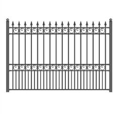 Aleko London Style Diy Wrought Iron Steel Fence Steel Fence Panels Garden Fence Panels Steel Fence