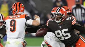 Browns' Myles Garrett fights for social justice and to be best player