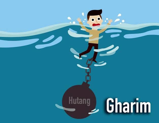 Gharim orang yang terlilit hutang berhak menerima zakat