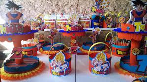 Ideas Decoracion De Cumpleanos Infantiles Dragon Ball Z