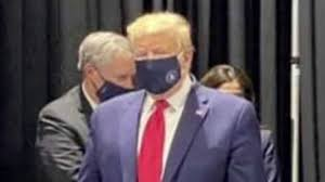 Coronavirus: Donald Trump seen wearing a face mask on visit to Ford plant  in Michigan   US News