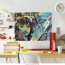 New Dramatic Comic Pop Art Wall Decal At Retro Planet