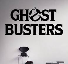 Ghost Busters Wall Vinyl Decal Animated Series Wall Sticker Cartoons Home Interior Removable Children Wall Stickers Cartoon Kid Room Decor Wall Stickers Murals