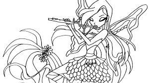 Tranh tô màu công chúa phép thuật winx - Thư Viện Ảnh