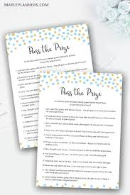 p the prize rhyme baby shower game