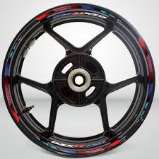 Suzuki Gsxr 750 Wheel Rim Sticker Decal Stripe Motorcycle Bike Mm Kit Stickman Vinyls
