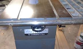 New Table Saw Fence Garagesandals