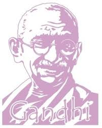 New Bargains On Gandhi Wall Decal Lilac 47 X59