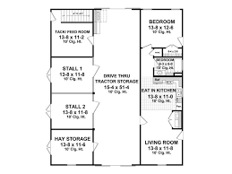barn plans horse barn plan with
