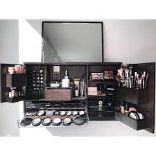 wall mounted makeup organizer