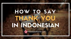 how to say thank you in n npod