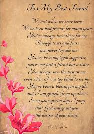 happy birthday wishes for a friend poem