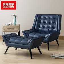 single leather sofa recliner sofa