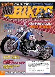 hot rod bikes magazine april 2005
