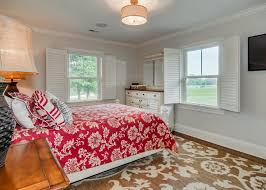 country style bedroom features elegant
