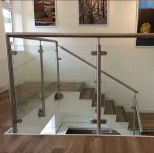stainless steel glass balcony railing