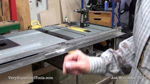 972 Benchtop Tablesaw Upgrade Video 51 Youtube