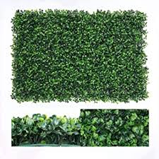 Decorative Fences Garden Outdoors 12 Pack Uyoyous Artificial Hedge Fence Panels 24 X 16 Green Plants Hedge Tiles Privacy Screen Panels Uv Protection Gardens Fence Wall Decor For Indoor Outdoor