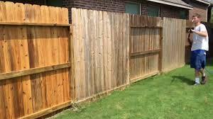 Pressure Washing A Cedar Fence Youtube