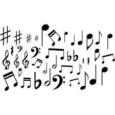 Music Notes Vinyl Wall Decal Stickers Lot Of 40 Notes Home Decor Made By G B Vinyl Decals Do Not Copy Amazon Com