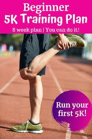 8 week 5k plan for beginners