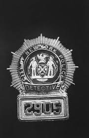 NYC detective badge probably undercover detective Robert Leuci's | Photo,  Pictures, Detective