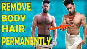 how to remove body hair permanently