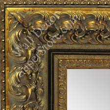 ornate baroque antique gold black
