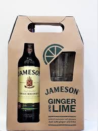 jameson irish whiskey gift pack irish