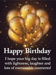 birthday quotes golden balloon happy birthday wishes card for