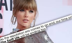 taylor swift shuts down the swift life