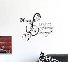 stickersyard medium music quotes wall sticker decal sticker