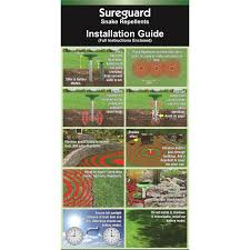 Sureguard Snake Repellent Solar Premium Bunnings Warehouse
