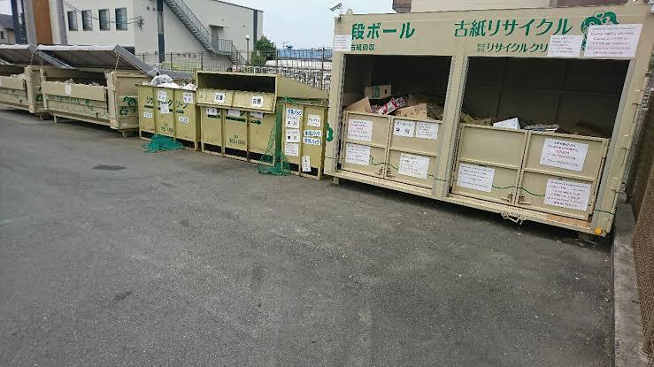 洋服処分 資源回収ボックス