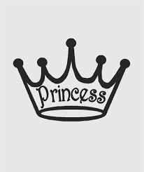 Top Selling Decals Prices Reduced Disney Princess Silhouette Of Girls Royal Crown Tiara Clip Art Picture Art Design Size 14 Inches X 28 Inches Vinyl Wall Sticker 22 Colors Available Amazon Com