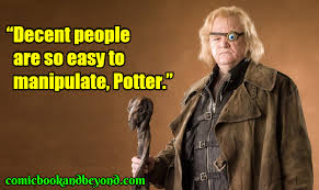 alastor moody quotes from harry potter movie comic books