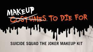 squad the joker makeup kit