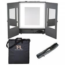 portable makeup studio with lights